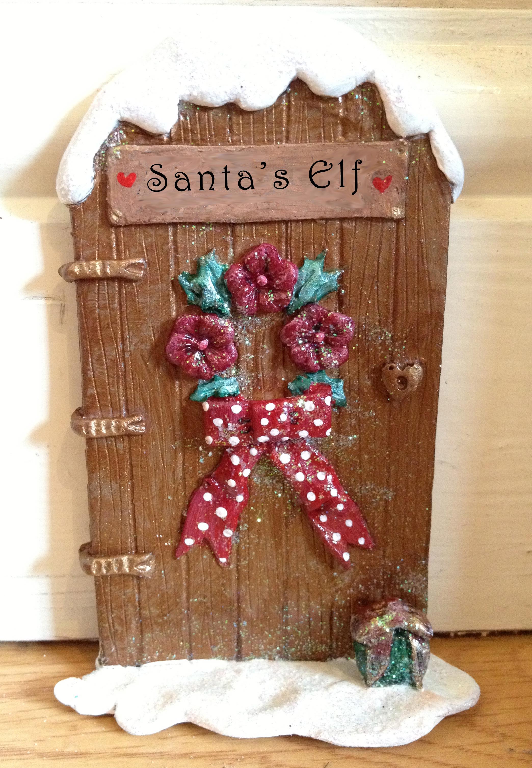 Santa 39 s elf door studio 7t7 for Elf door and elf